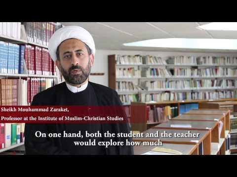 Master en relations islamo-chrétiennes IEIC - USJ