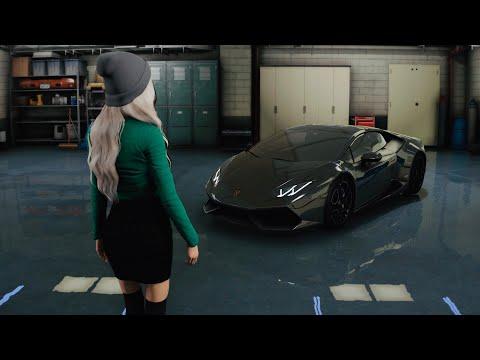 ► GTA 5 8K REAL LIFE Graphics ✪ Lamborghini Huracán BRUTAL SOUND!🔥 GEFORCE RTX™ 2080 Ti & i9-9900k