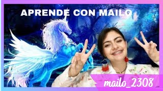 COMO DIBUJAR UN PEGASO, DRAGÓN Y MÁS! // APRENDE CON MAILO