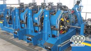 olimpia 80 tube mills hf linear cage forming
