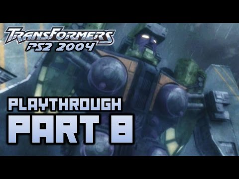 Transformers (PS2) Playthrough Part 8 - Tidal Wave (720p)