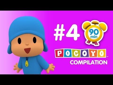 Pocoyo - 90 minutes of educative fun for kids! PART 4