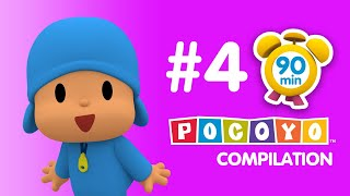 Pocoyo - 90 minutes of educative fun for kids! PART 4