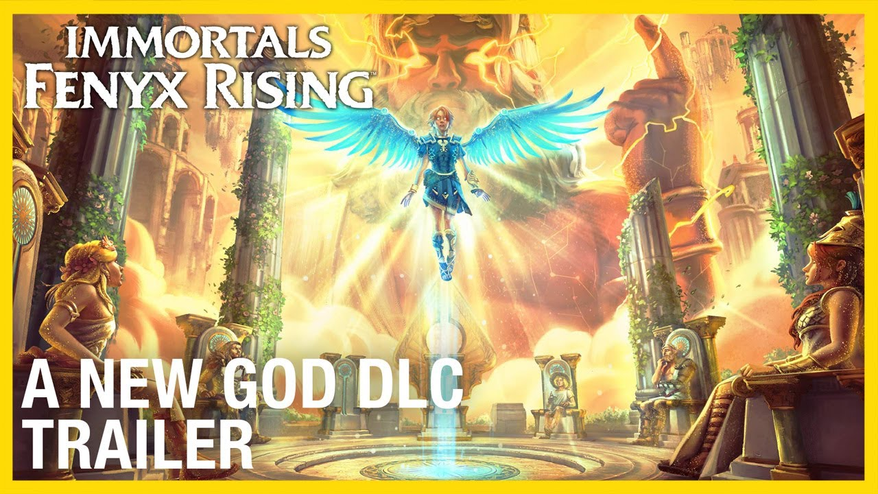 Immortals Fenyx Rising: A New God DLC Trailer | Ubisoft