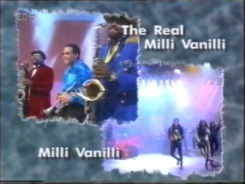 Milli Vanilli vs The Real M.V. - Keep On Running