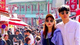Ocean O Korean People - Free HD Stock Footage