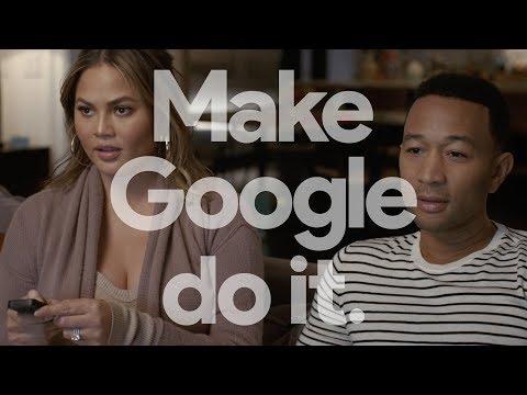 Google Assistant: Remote (John Legend and Chrissy Teigen)
