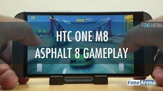 HTC One M8 Asphalt 8 Gameplay