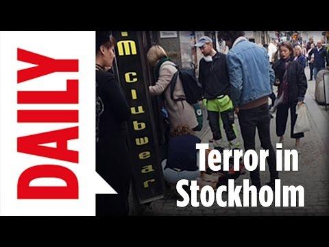 Terror-Anschlag in Stockholm - Alle aktuellen Infos - BILD Daily live 07.04.17