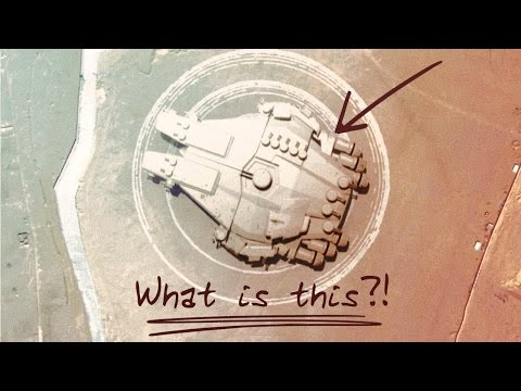WHAT IS THIS?! Mysterious Alien Structure found on Google Earth in Egypt!