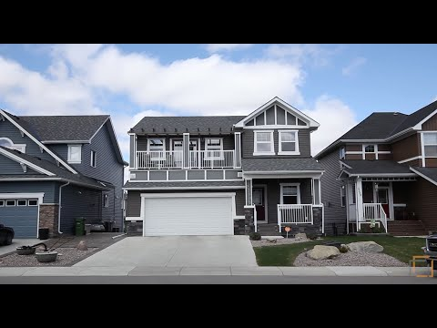 Calgary Real Estate Property Tour  - 2393 Bayside Circle Airdrie Alberta