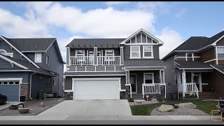 Calgary Real Estate Property Tour  - 2393 Bayside Circle Airdrie Alberta