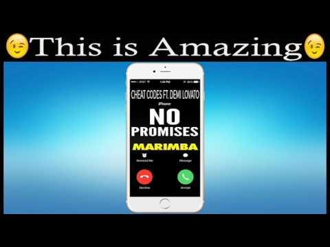 Latest iPhone Ringtone - No Promises Marimba Remix Ringtone - Cheat Codes Feat. Demi Lovato