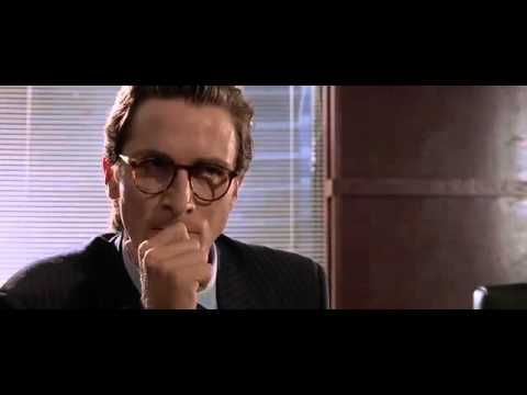 American psycho business card scene youtube american psycho business card scene colourmoves