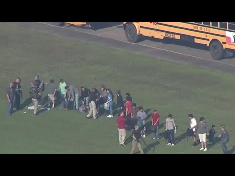 Santa Fe High School still an active crime scene as investigators look for a motive
