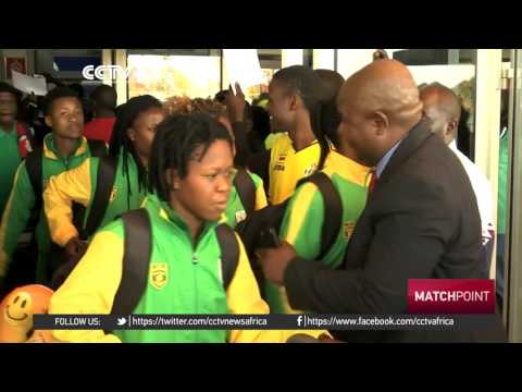 Zimbabwe's women football team jets back home to heroine's welcome