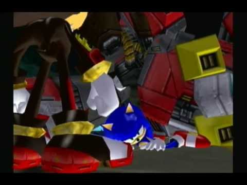 Shadow The Hedgehog Stage 6 Boss Sonic And Diablon Gun Fortress A Rank Youtube