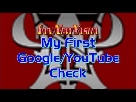 Ian's First Google Adsense/Youtube Monetization Check (No Network Partnership)