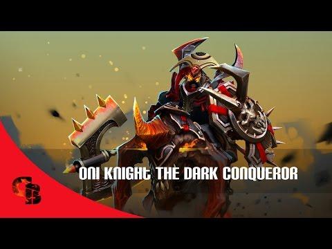Dota 2: Store - Chaos Knight - Oni Knight The Dark Conqueror
