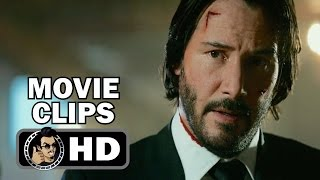 John wick: chapter 2 clip compilation (2017) keanu reeves action hd