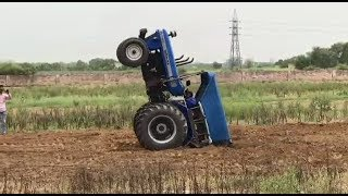 Ultimate Tractor Fails and Tractor Stunts Compilation 2017