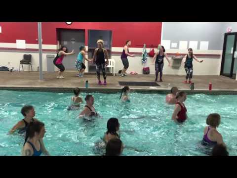 AQUA ZUMBA WARMUP with ZES Kelly Bullard and AZ zins – DJ FRANCIS warm up