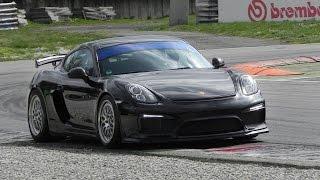 Porsche Cayman GT4 Clubsport 2016 Videos