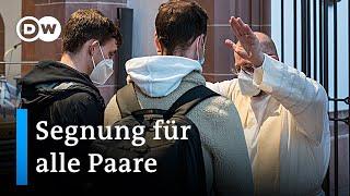 Liebe gewinnt: Katholische Priester segnen homosexuelle Paare | DW Nachrichten