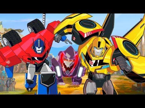 Мультик Трансформеры: Роботы под прикрытием 1/2. Пилот. Часть 2