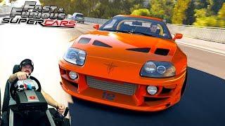 1500 необузданных чертей под капотом Toyota Supra RZ Fast & Furious Edition Forza Horizon 2