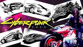 Автомобили, Аэродайны и Мотоциклы | Cyberpunk 2020