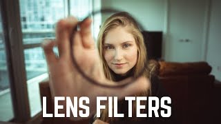 Beginner's Guide to Camera LENS FILTERS // Necessary or Overrated?!