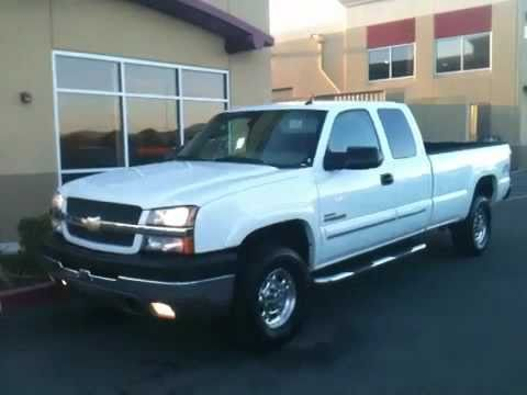 2004 chevrolet duramax silverado 2500hd 4x4 extended cab. Black Bedroom Furniture Sets. Home Design Ideas