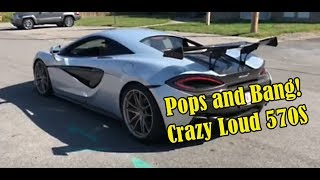 Best Sounding McLaren 570S with Burble ECU Flash by VRTuned