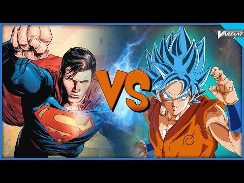 Superman VS Goku!