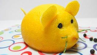 Repeat youtube video Cocina: Cómo hacer un ratón limón. Mouse lemon.