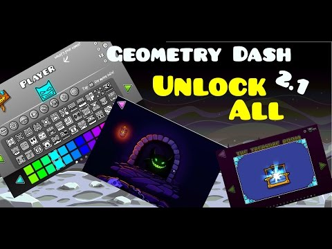 Geometry Dash 2.1 Unlock All