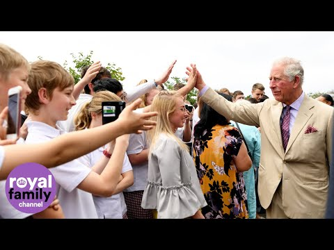 Prince Charles Addresses Students in Christchurch