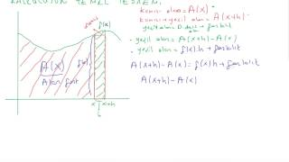 63) Kalkülüs 1 - kalkülüsün temel teoremi (kanıtlı) , integral antitürevdir Video