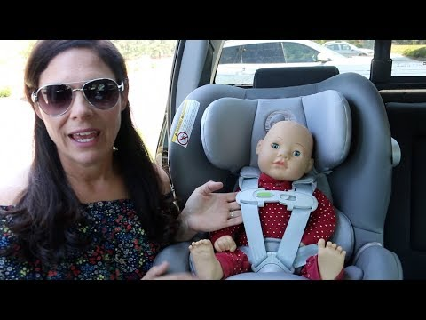 62cf8f8db0832 CYBEX Sirona M with Sensorsafe 2.0 Convertible Car Seat Review - YouTube