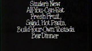 "1988 Sizzler ""What's For Dinner"" TV Commercial"