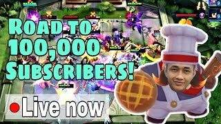 90,000 Subs! | Let me Coach you in Magic Chess! Join me now! | Mobile Legends: Bang Bang
