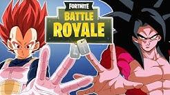 """""""The Revenge Of The Saiyans"""" Vegeta And Slick Goku Play Fornite"""