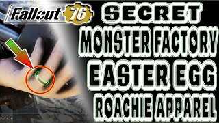 🆕 UNIQUE SECRET Easter Egg ROACHIE APPAREL | Fallout 76 | HIDDEN Monster Factory - Wedding Ring