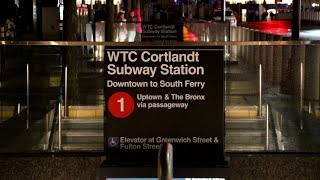 MTA New York City Subway : WTC-Cortlandt Station On The 1 Line...Rebuilt, Reopened & Back In Service