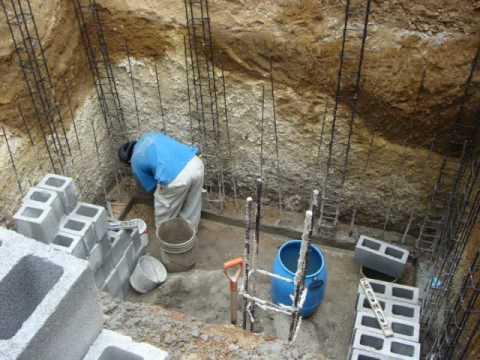 Cisterna de 12 metros cubicos de agua primera parte 0001 for Como fabricar tanques de agua para rusticos