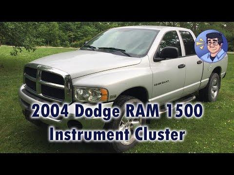 2004 RAM 1500 Instrument Cluster