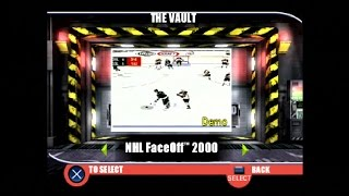 PlayStation Underground Jampack Winter 99 Gameplay Part 6 - NHL FaceOff 2000