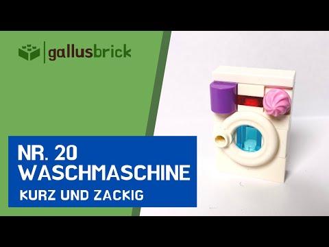 Waschmaschine aus LEGO® bauen! | Nr. 20 kurz und zackig