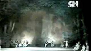 Swan Lake  pas de troi  First act  Kirov Ballet